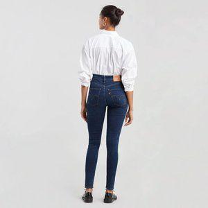 Levis Mile High Super Skinny Jeans sz 25